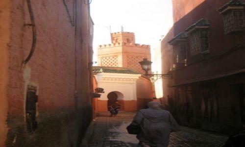 Zdjecie MAROKO / brak / Marrakech / uliczki Marrakechu