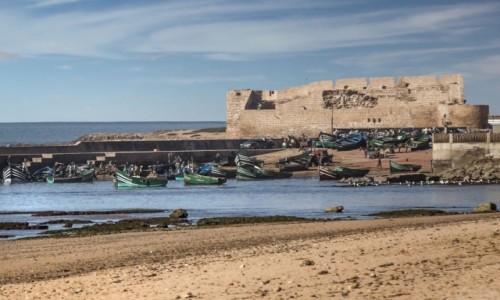 Zdjecie MAROKO / Marrakech-Tensift-El Haouz / Souiria Lakdima / Portugalska forteca