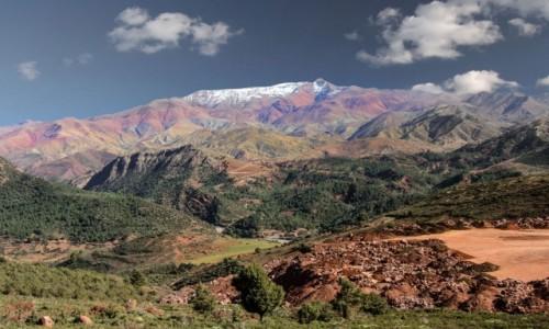 MAROKO / Maroko / gdzieś po drodze / Kolorowo