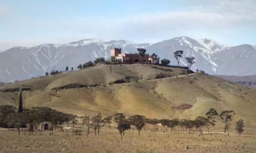 Zdjecie MAROKO / Maroko / gdzieś po drodze / Posesja na górce