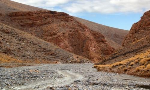 MAROKO / Maroko / gdzieś po drodze / Kamienistym szlakiem