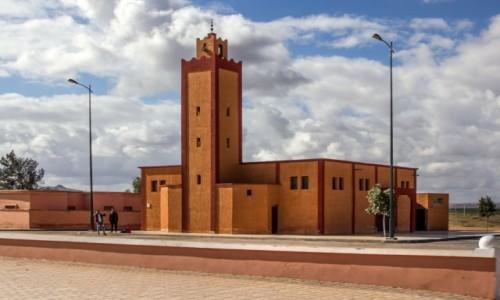 Zdjecie MAROKO / Maroko / gdzieś po drodze / Meczet