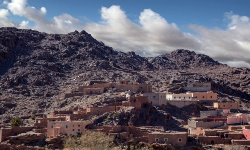 Zdjecie MAROKO / Souss-Massa / gdzieś po drodze / Przez górki