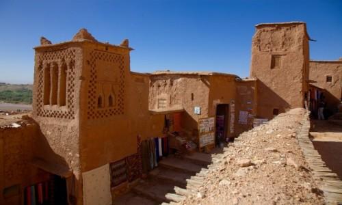 Zdjecie MAROKO / Ouarzazate / . / Ait Benhaddou
