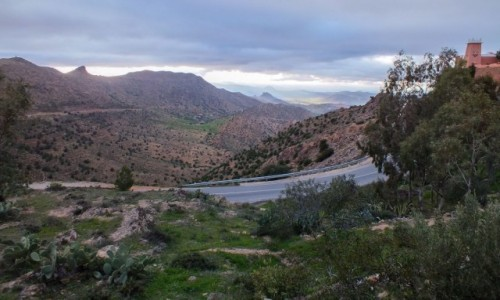MAROKO / Maroko / gdzieś po drodze / Marokańskie widoczki