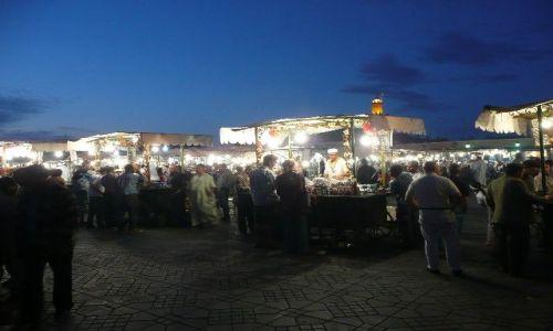 Zdjecie MAROKO / Marrakesz / Marrakesz / Dżemaa el-Fna