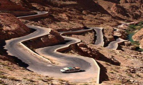 Zdjecie MAROKO / Gorges du Dades / brak / Marokańskie drogi ...