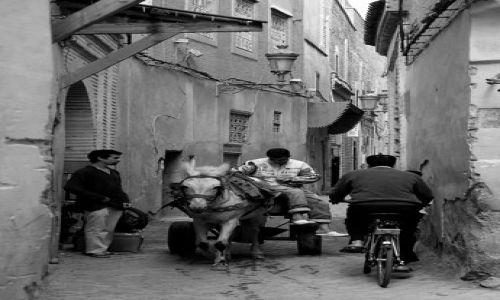 Zdjecie MAROKO / brak / Marrakesz / Ulice Mediny 2