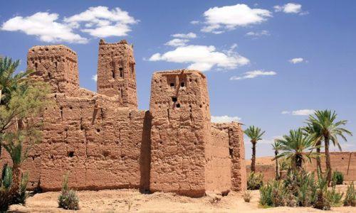 Zdjęcie MAROKO / Dolina Dades - Dolina Tysiąca Kazb / Marrakesz / ***