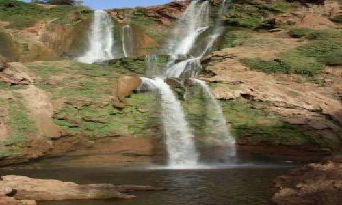 Zdjecie MAROKO / brak / Ouzoud / wodospady