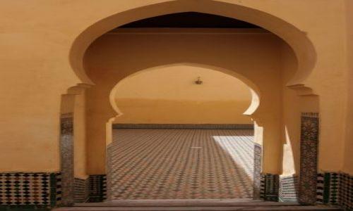 Zdjęcie MAROKO / brak / Meknes / Mauzoleum Moulay Idris