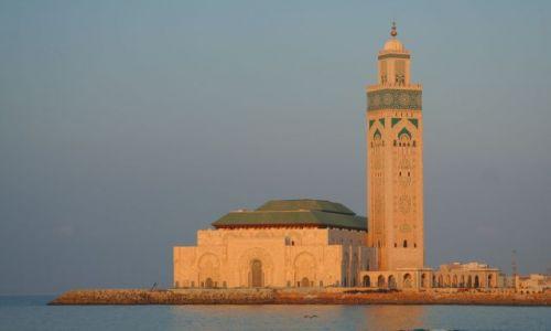 Zdjęcie MAROKO / brak / Casablanka / Meczet Hasana II