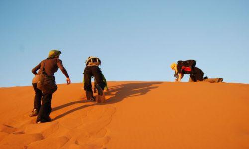 Zdjecie MAROKO / brak / Sahara / w poszukiwaniu Zachodu Słońca