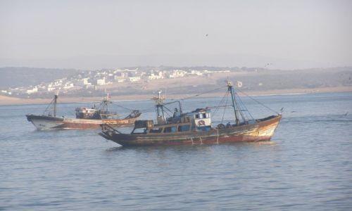 Zdjęcie MAROKO / Essaouira / ocean / Na połów
