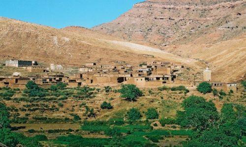 Zdjecie MAROKO / Warzazat-Zagora / w drodze / Marokańskie krajobrazy