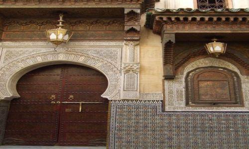 Zdjecie MAROKO / Fez / Fez / medina w Fezie