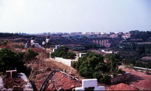 Zdjęcie MAROKO / centrum / Meknes / cmentarz