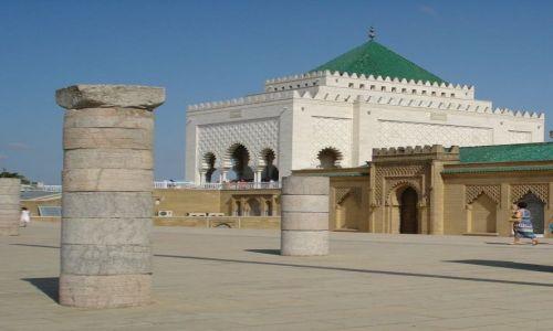 Zdjęcie MAROKO / Rabat / Rabat / Mauzoleum Muhammada V