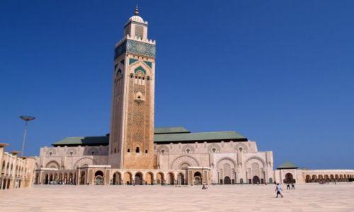 Zdjecie MAROKO / brak / Casablanca / Meczet Hassana II