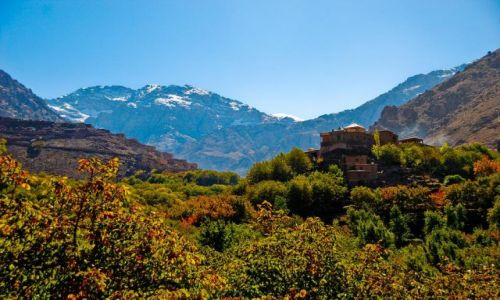 Zdjecie MAROKO / Atlas Wysoki / Imlil / piękne góry