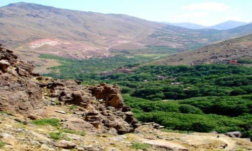 Zdjecie MAROKO / Atlas Wysoki / Imlil / Wioski Berberów