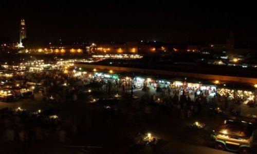Zdjecie MAROKO / brak / Marrakech / Jammal el-fna  - raz jeszcze