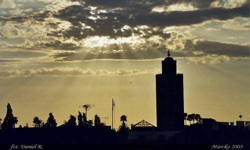 Zdjęcie MAROKO / brak / Marrakesz / Marrakesz o zmierzchu