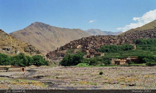 MAROKO / Atlas Wysoki / Dolina Imlil / Imlil Valley