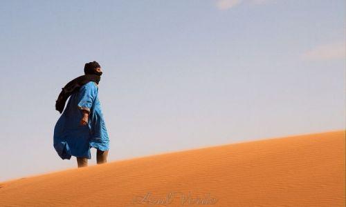 Zdjecie MAROKO / brak / Sahara / Spojrzenie w dal