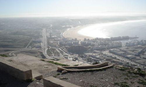 Zdjęcie MAROKO / brak / Agadir / Agadir - panorama z Kazby