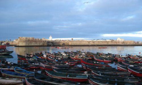 Zdjecie MAROKO / El Jadida / El Jadida (port. Mazagan) / Port w El Jadida