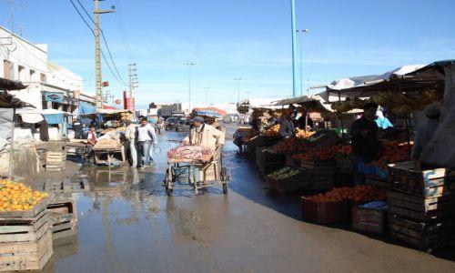 Zdjęcie MAROKO / El Jadida / Sidi Rahal / Afrykański market