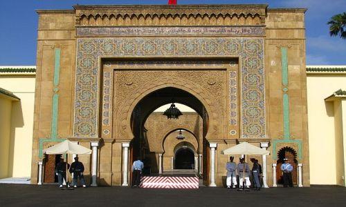 Zdjęcie MAROKO / . / Rabat / Pałac Królewski