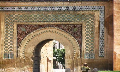 Zdjęcie MAROKO / . / Meknes / Bab el - Khamis