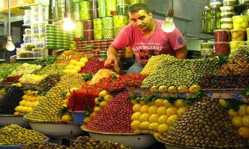 Zdjęcie MAROKO / . / Meknes / Suk - arabski bazar