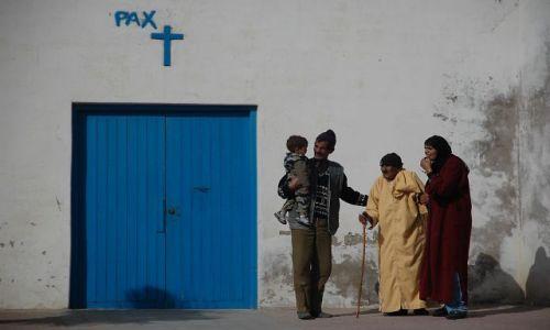 Zdjecie MAROKO / - / Essaouira / Konkurs-drzwi