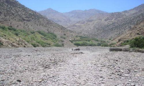 Zdjecie MAROKO / Mountain Atlas / Imlil / Droga na Toubka