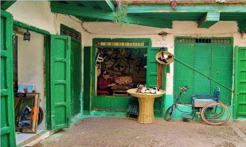 MAROKO / Maroko / Tetouan / Codzienna praca