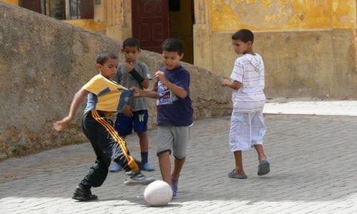 Zdjecie MAROKO / - / Al Jadida / W każdym kraju w piłkę grają