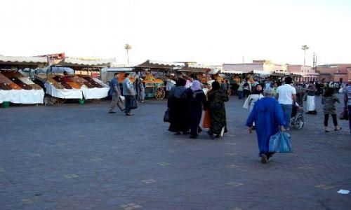 MAROKO / - / Marrakesz / plac Dzami al Fana