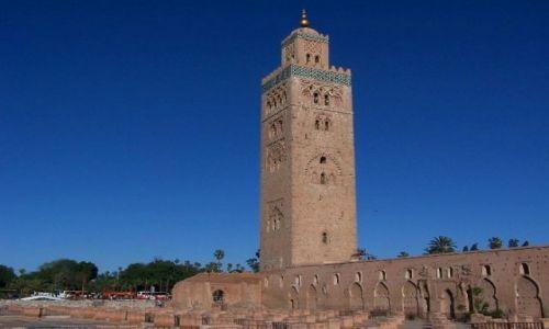 MAROKO / - / Marrakesz / minaret Kutubijja