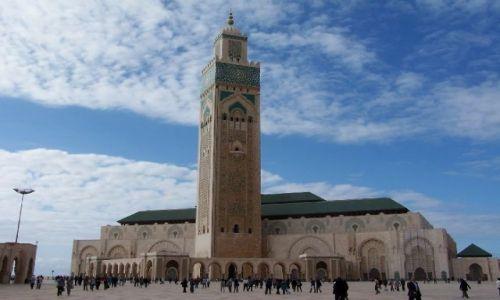 Zdjecie MAROKO / - / Casablanka / meczet Hasana II