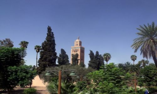 Zdjęcie MAROKO / - / Marrakech / Al kutubiya