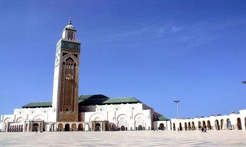 Zdjecie MAROKO / - / Casablanca / mosque