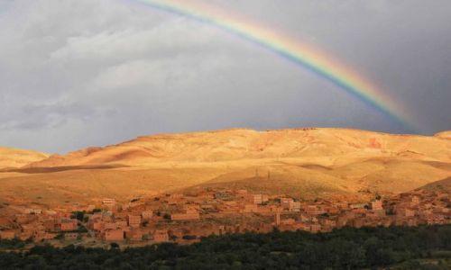 Zdjecie MAROKO / Południe Maroka / Atlas  / Góry Maroka - czasem słońce czasem deszcz