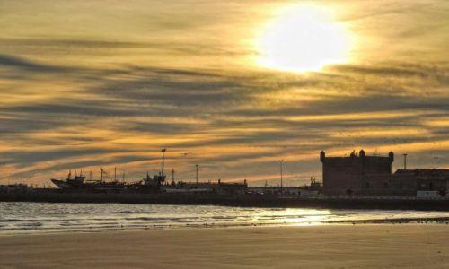 Zdjecie MAROKO / Wybrzeże atlantyckie / Essaouira / Port w Essaouirze