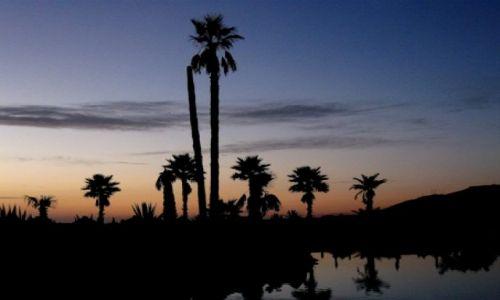 Zdjecie MAROKO / - / Agadir / zachód słońca