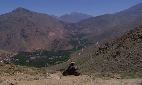 Zdjecie MAROKO / Atlas Wysoki / okolice Imlil / W górach Atlas