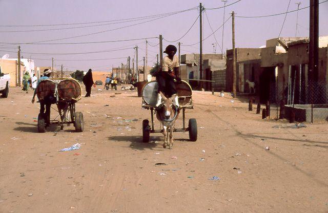 Zdjęcia: Nouakchott, przedmieścia stolicy, MAURETANIA