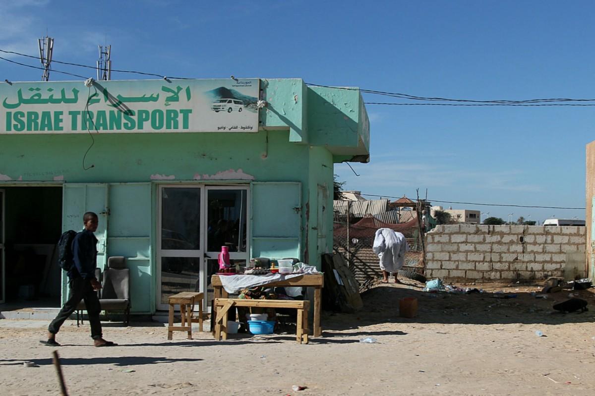 Zdjęcia: Sahel, Sahel, 1.Biuro sprzedaży biletów taniego przewoźnika, MAURETANIA
